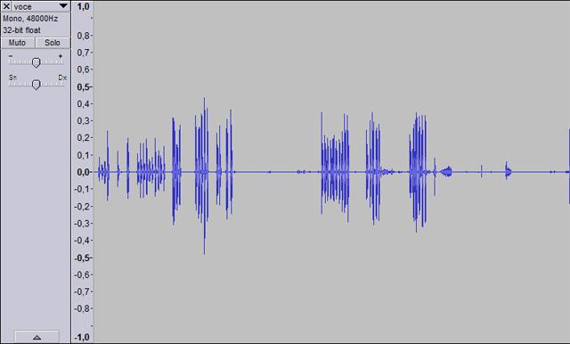 riduzione rumore audio