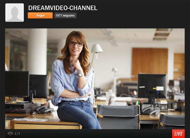 ustream visione su computer client