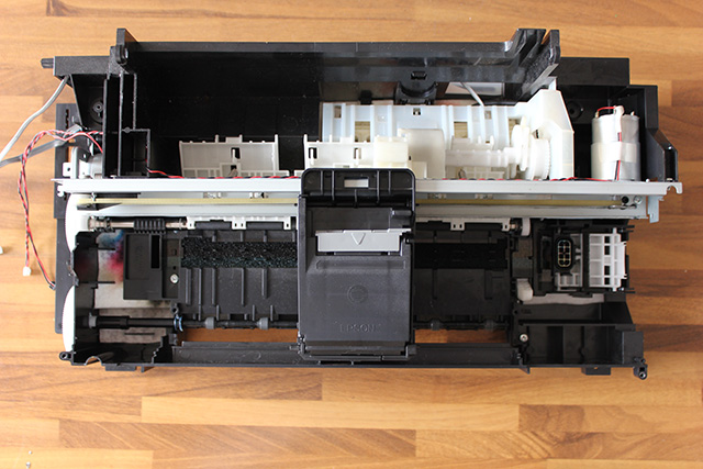 fai da te slider per riprese video da una vecchia stampante