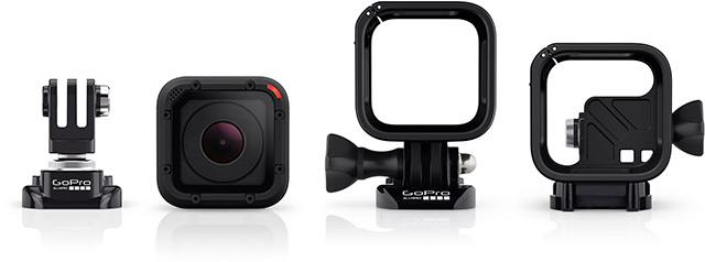 GoPro Hero4 Session frame
