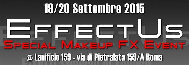evento manifestazione fiera effectus special make-up effects