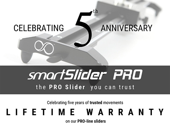 SmartSystem SmartSlider PRO - garanzia a vita